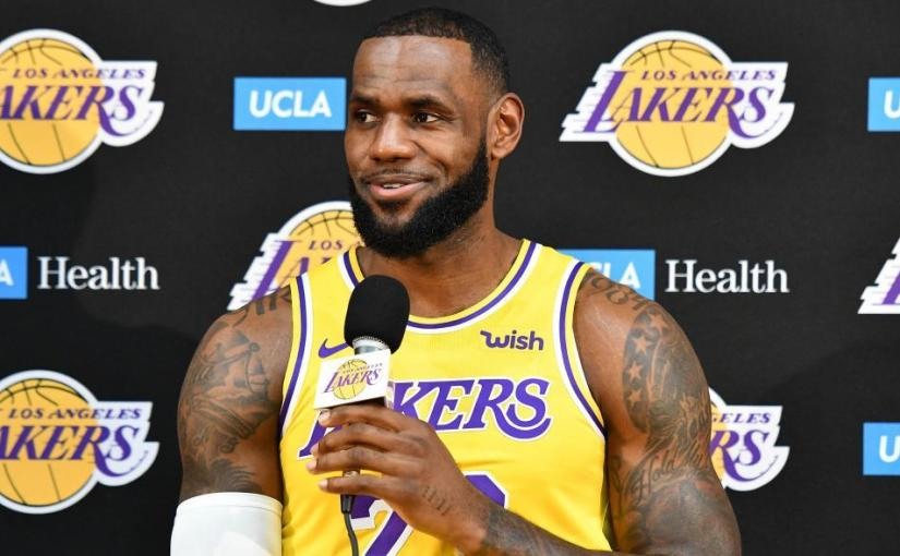 Lebron James is aLaker
