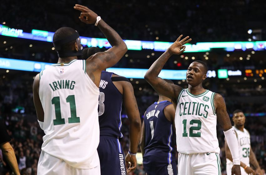 Dallas Mavericks v Boston Celtics